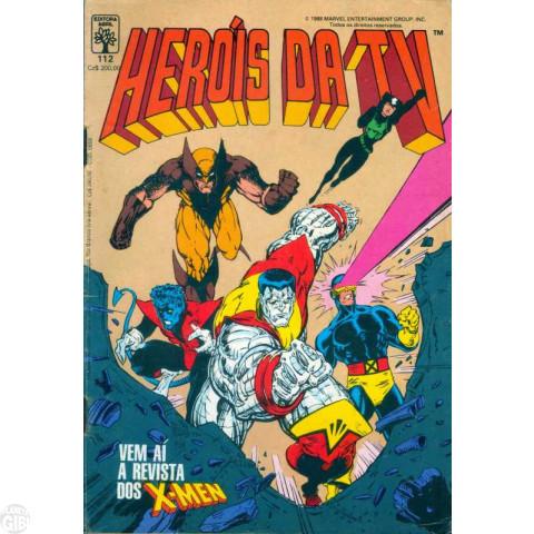 Heróis da TV [Abril - Marvel] nº 112 out/1988 - Última Edição Desta Série