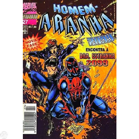 Homem-Aranha 2099 nº 027  dez/1995