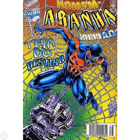 Homem-Aranha 2099 nº 028  jan/1996
