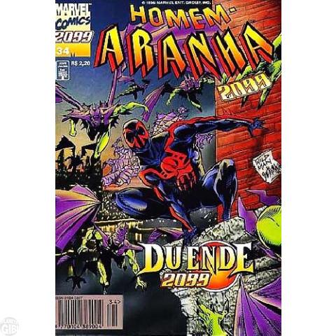 Homem-Aranha 2099 nº 034 jul/1996