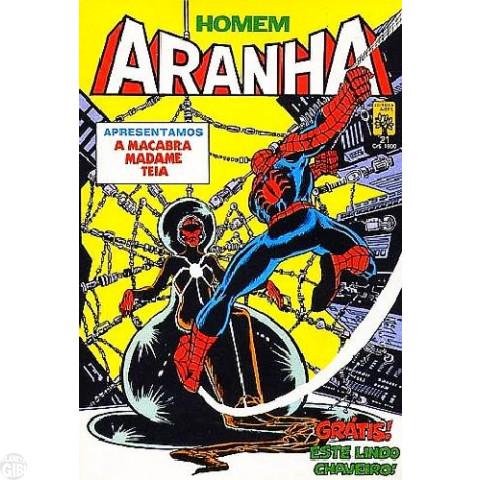 Homem-Aranha [Abril - 1ª série] nº 021 mar/1985
