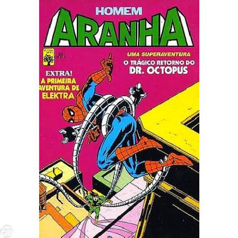 Homem-Aranha [Abril - 1ª série] nº 022 abr/1985