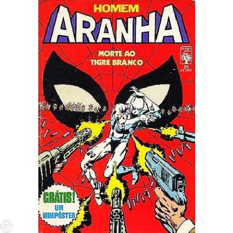 Homem-Aranha [Abril - 1ª série] nº 026 ago/1985