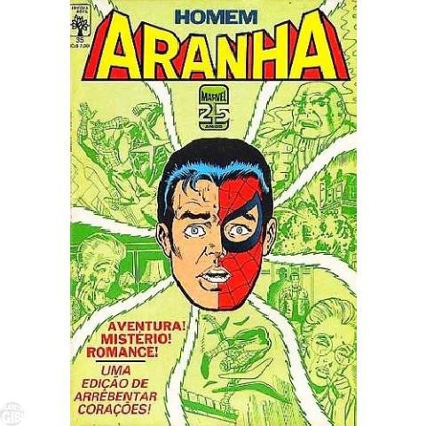 Homem-Aranha [Abril - 1ª série] nº 035 mai/1986