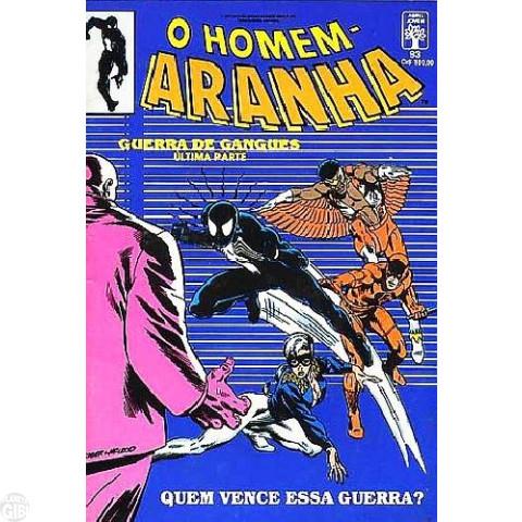 Homem-Aranha [Abril - 1ª série] nº 093 mar/1991