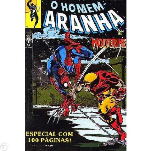 Homem-Aranha [Abril - 1ª série] nº 094 abr/1991 - & Wolverine - Especial 100 páginas