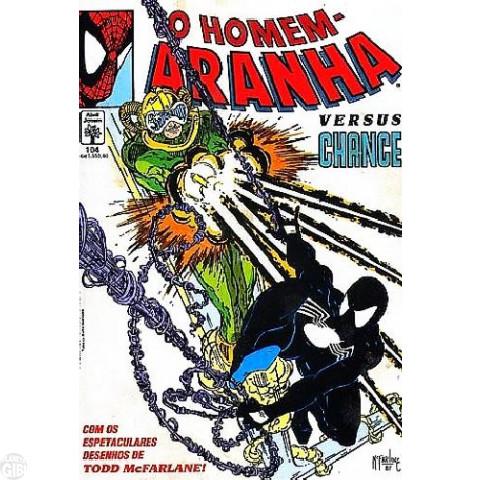 Homem-Aranha [Abril - 1ª série] nº 104 fev/1992 - Versus Change