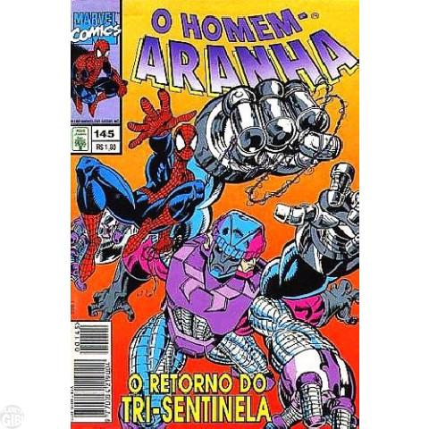 Homem-Aranha [Abril - 1ª série] nº 145 jul/1995