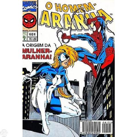 Homem-Aranha [Abril - 1ª série] nº 151 jan/1996