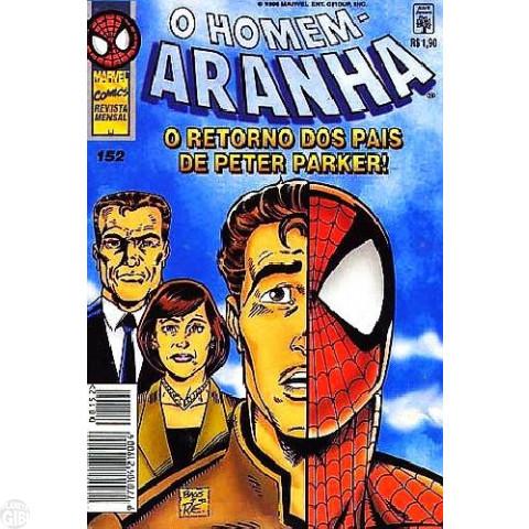 Homem-Aranha [Abril - 1ª série] nº 152 fev/1996