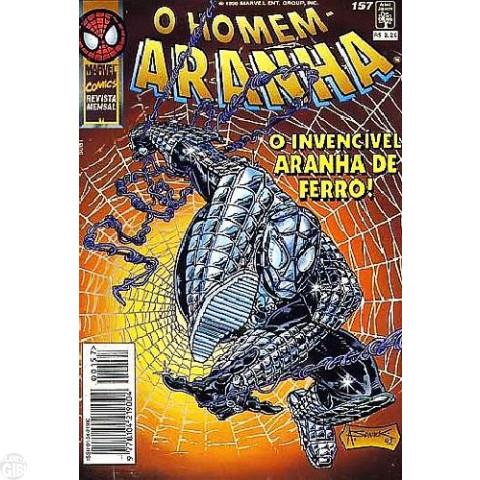 Homem-Aranha [Abril - 1ª série] nº 157 jul/1996