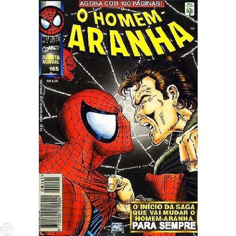 Homem-Aranha [Abril - 1ª série] nº 165 mar/1997