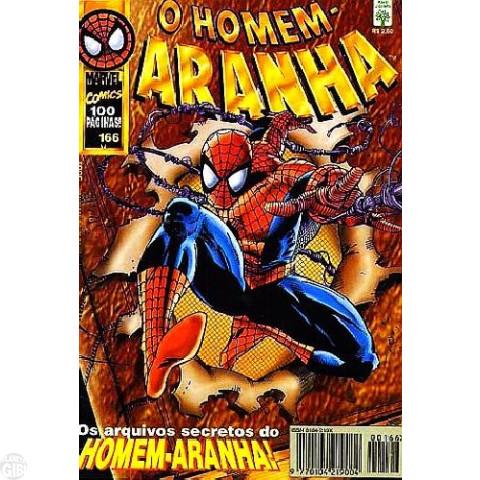 Homem-Aranha [Abril - 1ª série] nº 166 abr/1997