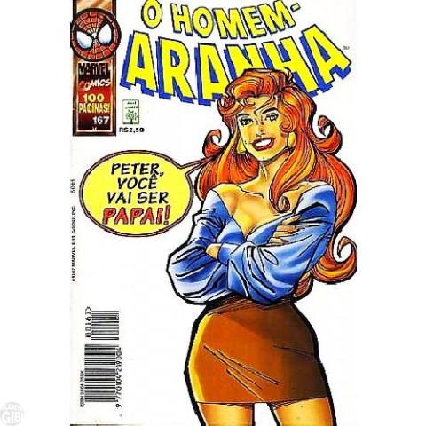 Homem-Aranha [Abril - 1ª série] nº 167 mai/1997