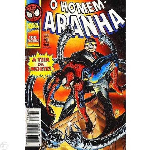 Homem-Aranha [Abril - 1ª série] nº 168 jun/1997