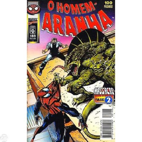 Homem-Aranha [Abril - 1ª série] nº 183 set/1998