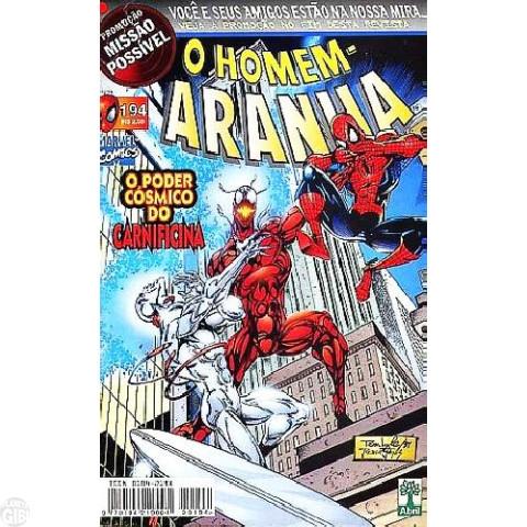 Homem-Aranha [Abril - 1ª série] nº 194 ago/1999