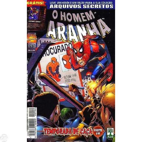 Homem-Aranha [Abril - 1ª série] nº 196 out/1999