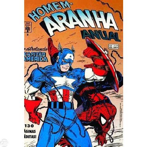 Homem-Aranha Anual [Abril] nº 002 dez/1992