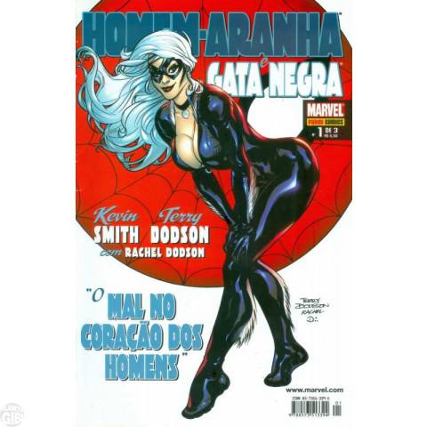 Homem-Aranha e Gata Negra O Mal no Coração dos Homens [Panini - Minissérie] nº 001 a nº 003 jul-set/2006 - Minissérie Completa