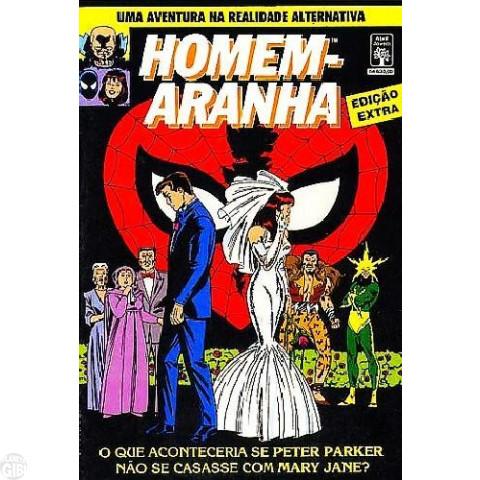 Homem-Aranha Edição Extra [Abril]  nov/1991 - Se Peter Parker Não se Casasse com Mary Jane?
