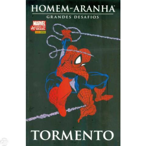 Homem-Aranha Grandes Desafios [Panini] nº 002 mai/2007 - Tormento - Com Fac-Símile