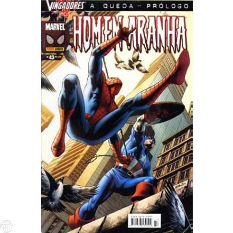 Homem-Aranha [Panini - 1ª série] nº 043 jul/2005 - Vingadores: A Queda - Prólogo