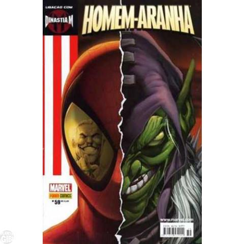Homem-Aranha [Panini - 1ª série] nº 059 nov/2006 - Ligação com Dinastia M