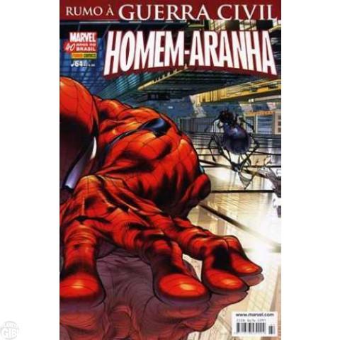 Homem-Aranha [Panini - 1ª série] nº 064 abr/2007 - Rumo à Guerra Civil