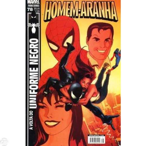 Homem-Aranha [Panini - 1ª série] nº 078 jun/2008 - A Volta do Uniforme Negro