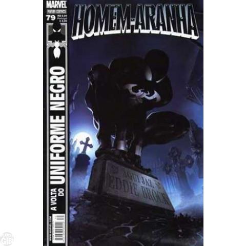 Homem-Aranha [Panini - 1ª série] nº 079 jul/2008 - A Volta do Uniforme Negro