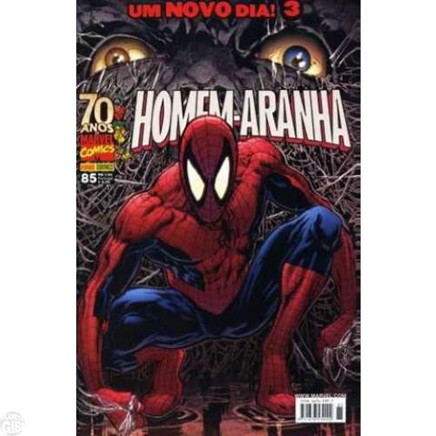 Homem-Aranha [Panini - 1ª série] nº 085 jan/2009 - Um Novo Dia! - Com Brinde Original