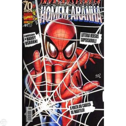 Homem-Aranha [Panini - 1ª série] nº 091 jul/2009 - Invasão Secreta