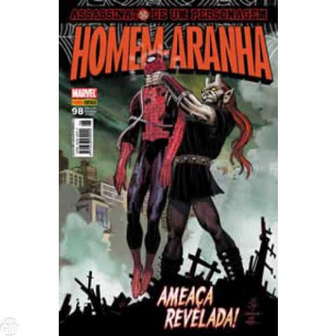 Homem-Aranha [Panini - 1ª série] nº 098 fev/2010 - Assassinato de um Personagem