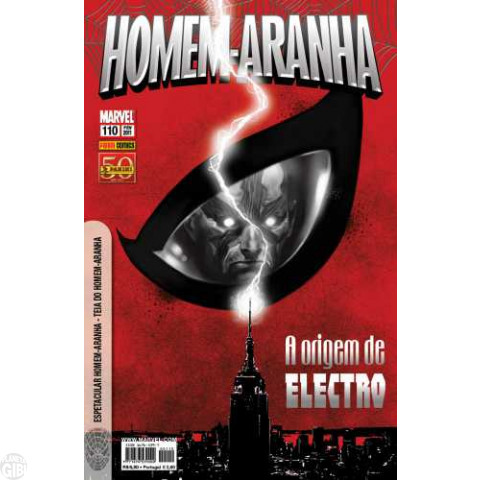 Homem-Aranha [Panini - 1ª série] nº 110 fev/2011
