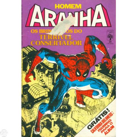 Homem-Aranha [Abril - 1ª série] nº 029 nov/1985 Vide Detalhes