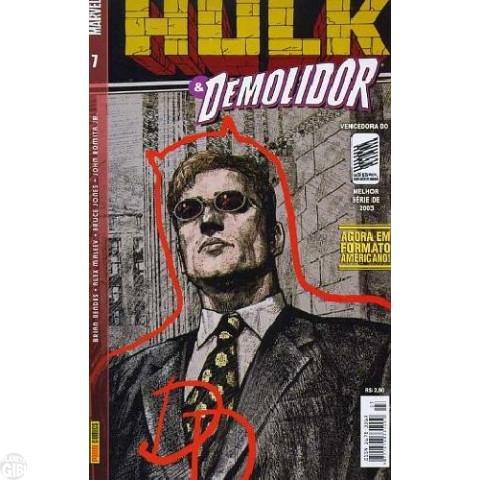 Hulk & Demolidor nº 007 ago/2003