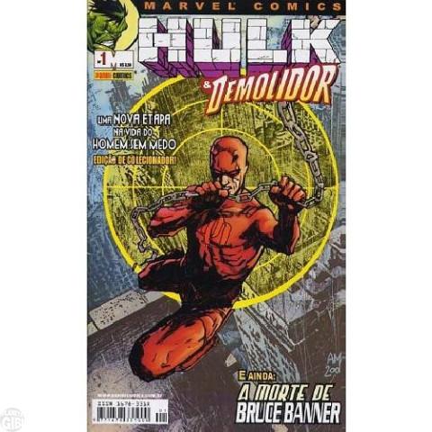 Hulk e Demolidor [Panini] nº 001 fev/2003