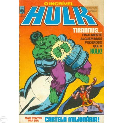 Incrível Hulk [Abril - 1ª série] nº 006 dez/1983 - Vide Detalhes