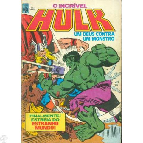 Incrível Hulk [Abril - 1ª série] nº 011 mai/1984
