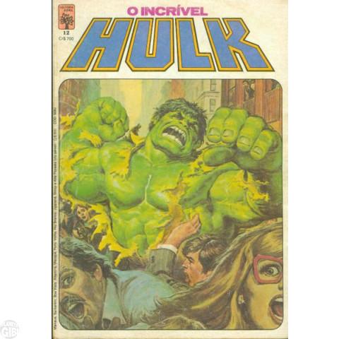 Incrível Hulk [Abril - 1ª série] nº 012 jun/1984