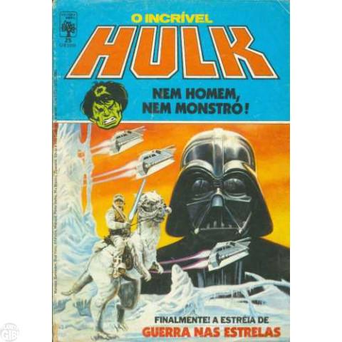 Incrível Hulk [Abril - 1ª série] nº 025 jul/1985