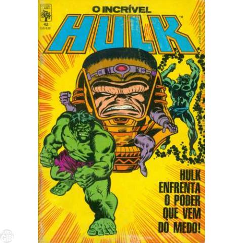 Incrível Hulk [Abril - 1ª série] nº 042 dez/1986