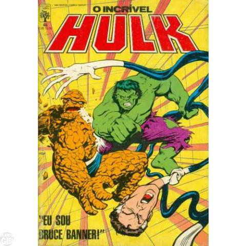 Incrível Hulk [Abril - 1ª série] nº 046 abr/1987