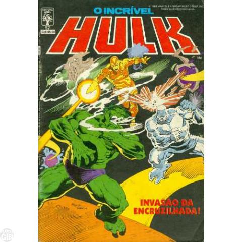Incrível Hulk [Abril - 1ª série] nº 057 mar/1988