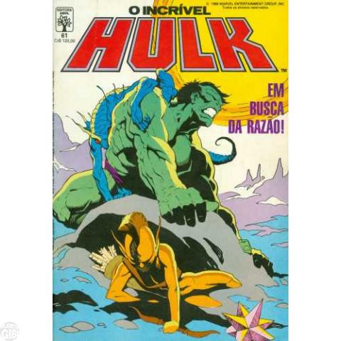 Incrível Hulk [Abril - 1ª série] nº 061 jul/1988