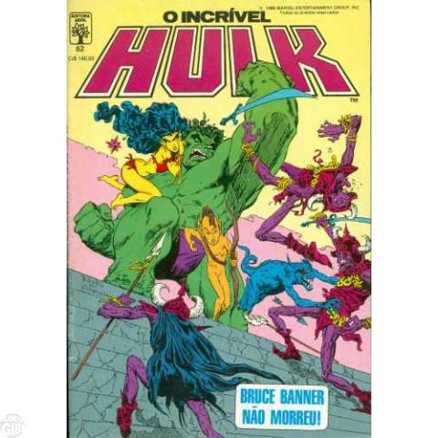 Incrível Hulk [Abril - 1ª série] nº 062 ago/1988