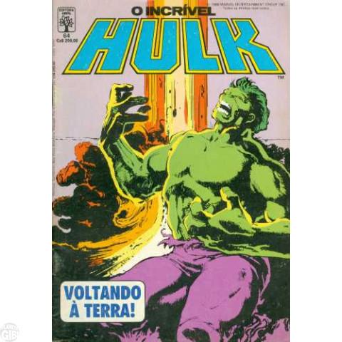 Incrível Hulk [Abril - 1ª série] nº 064 out/1988