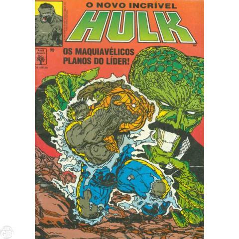 Incrível Hulk [Abril - 1ª série] nº 099 set/1991