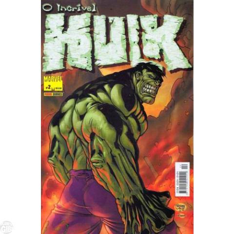 Incrível Hulk [Panini - 1ª série] nº 002 mar/2004